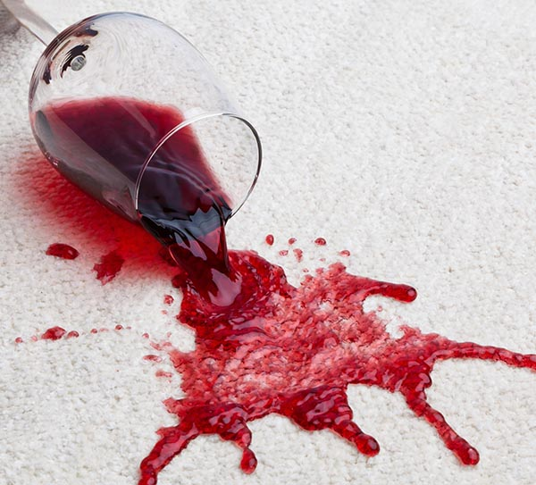 Wine Stained Carpet